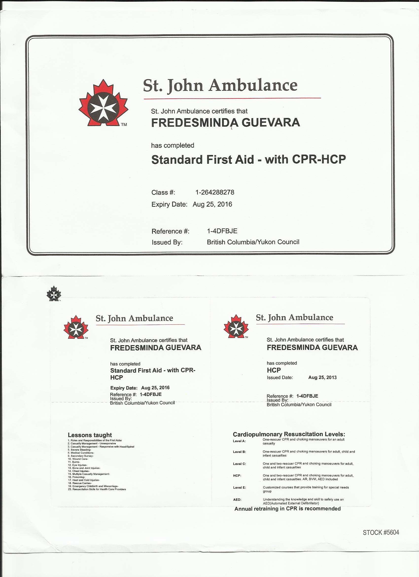 Fresh images of first aid certification business cards and resume xflitez Choice Image